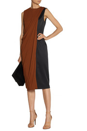 Jason Wu Draped satin and jersey dress