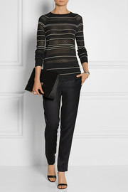 Jason Wu Pointelle-knit silk sweater