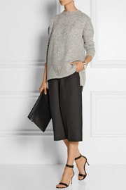 Adam Lippes Mélange wool and cashmere-blend sweater