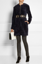 Adam Lippes Belted shearling coat