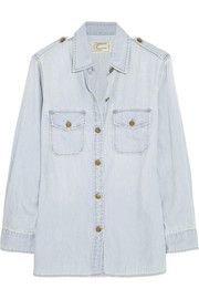 The Perfect cotton-chambray shirt