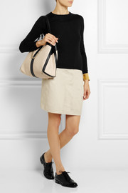 See by Chloé Beckie two-tone textured-leather shoulder bag