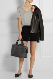 See by Chloé Kay medium leather-trimmed nubuck tote