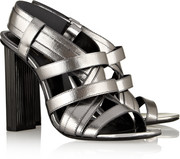 Robert Clergerie Dirsta metallic leather sandals