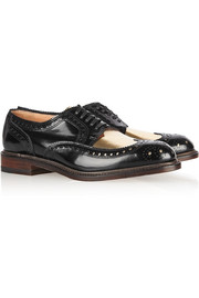 Robert Clergerie Roelh patent-leather brogues
