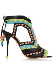 Sophia Webster Riko cutout patent-leather sandals