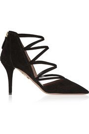 Aquazzura Electric suede pumps