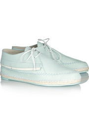 Sophia Webster Bonita fringed leather lace-ups