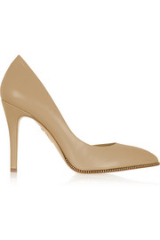 Charlotte Olympia The Lady is a Vamp leather pumps