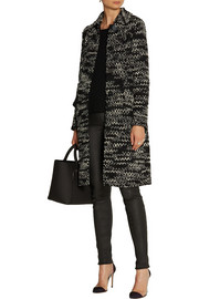 Missoni Crochet-knit wool-blend coat