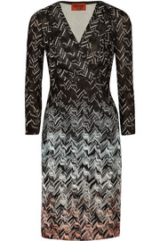 Missoni Ombré crochet-knit dress
