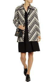 Tavia cotton-blend coat