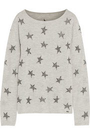 Rockstar embroidered cashmere sweater