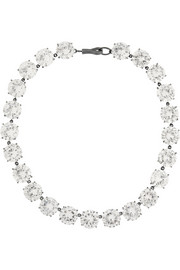 Bottega Veneta Cubic zirconia necklace