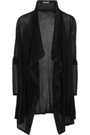 Helmut Lang Voltage ribbed jersey cardigan