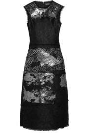 Bottega Veneta Metallic jacquard dress