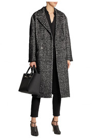 Bottega Veneta Brushed-jacquard coat