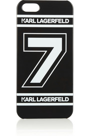 Karl Lagerfeld Number 7 iPhone 5 cover