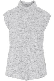Thakoon Cross-front wool-blend top