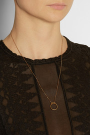 Maria Black Silver Screen gold-plated necklace