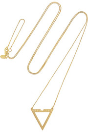 Maria Black Vixen gold-plated necklace