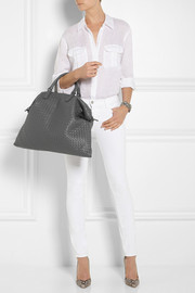 Bottega Veneta The Convertible intrecciato leather tote