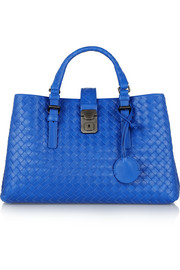 Bottega Veneta Roma small intrecciato leather tote