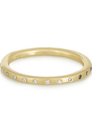 SCOSHA Day and Night 14-karat gold diamond ring
