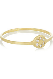 Lolli 10-karat gold diamond ring