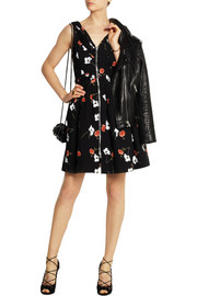 Kate Moss for Topshop Floral-print cotton dress