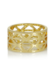 Arme De L'Amour Gold-plated ring