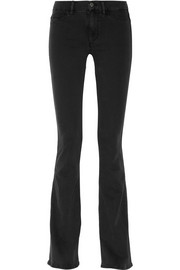 The Skinny Marrakesh mid-rise flared jeans