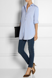 MiH Jeans The Oversized cotton-poplin shirt