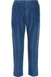 MiH Jeans The Marin chambray pants