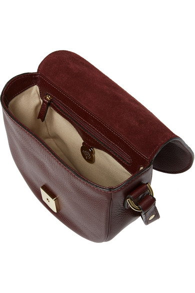 b275cdb6010a ... czech mulberry. tessie small textured leather satchel. 495. zoom in  05cad 96e11