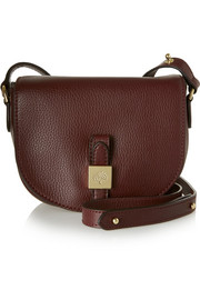 Mulberry Tessie small textured-leather satchel