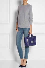 Mulberry The Willow small textured-leather tote