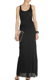Helmut Lang Racer-back jersey maxi dress