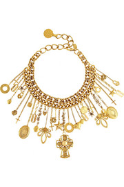 Erickson Beamon Velocity gold-plated necklace