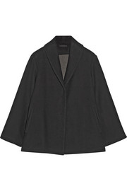 The Row Rayton cotton and wool-blend coat