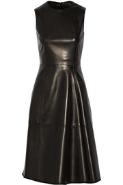 The Row Ottamae leather dress
