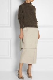 The Row Atanis mélange knitted sweater