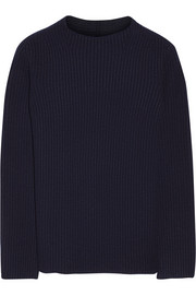 The Row Isemenia merino wool and cashmere-blend sweater