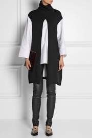 The Row Petra reversible cashmere vest