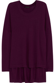 Donna Karan Oversized fine-knit cashmere sweater