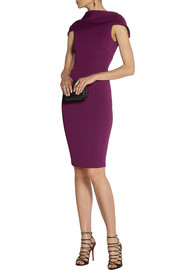 Donna Karan Draped stretch-jersey dress