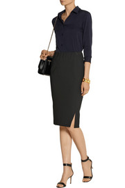 Donna Karan Modern Icons stretch-jersey pencil skirt