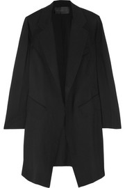 Donna Karan Stretch-wool coat