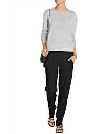 Donna Karan Crepe tapered pants