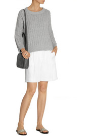 Michael Kors Cashmere and cotton-blend sweater